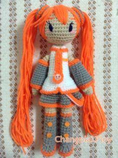 Crochet amigurumi doll. (Free tutorial). Fanatastic design.