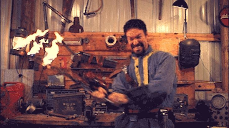 Learn How To DIY The Flaming Sword From Fallout 4 In Real Life