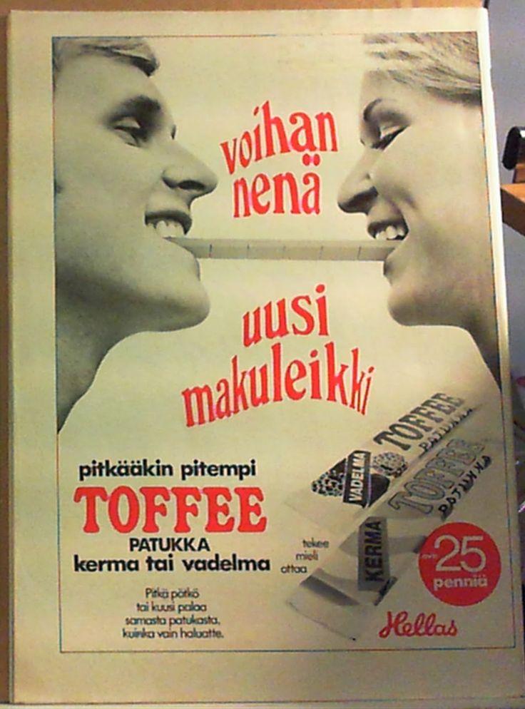 Mainos Suosikki-lehdessä 1970