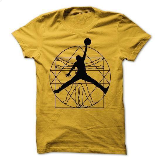 Vitruvian Jordan - #tshirt #online tshirt design. CHECK PRICE => https://www.sunfrog.com/Sports/Vitruvian-Jordan.html?60505