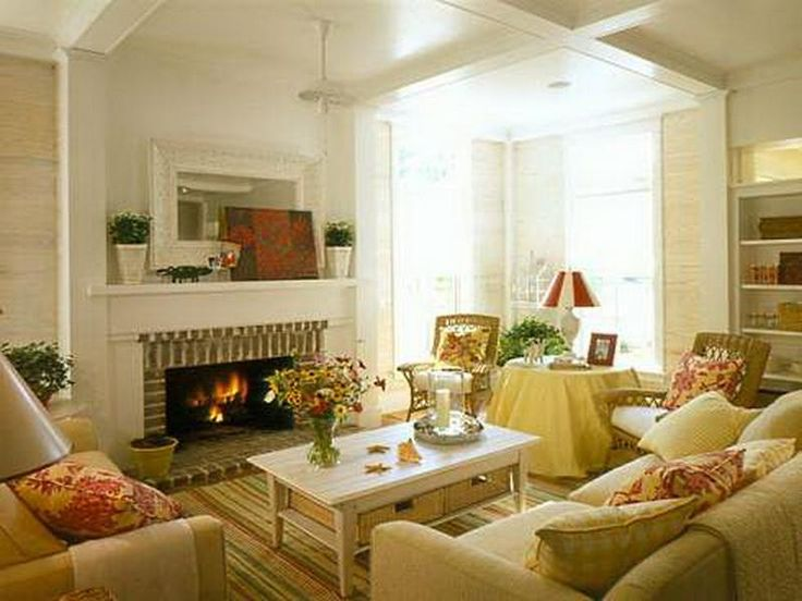 Interesting And Up To Date Cottage Style Decorating Ideas With Cottage Country Decor Living Room Design Green Color Concept