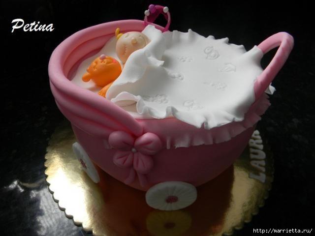 Марципановые торты в честь новорожденного (31) (640x480, 91Kb)