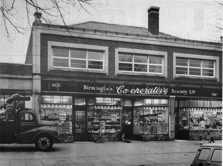 A Birmingham Cooperative shop on most of the high streets in the 1950s