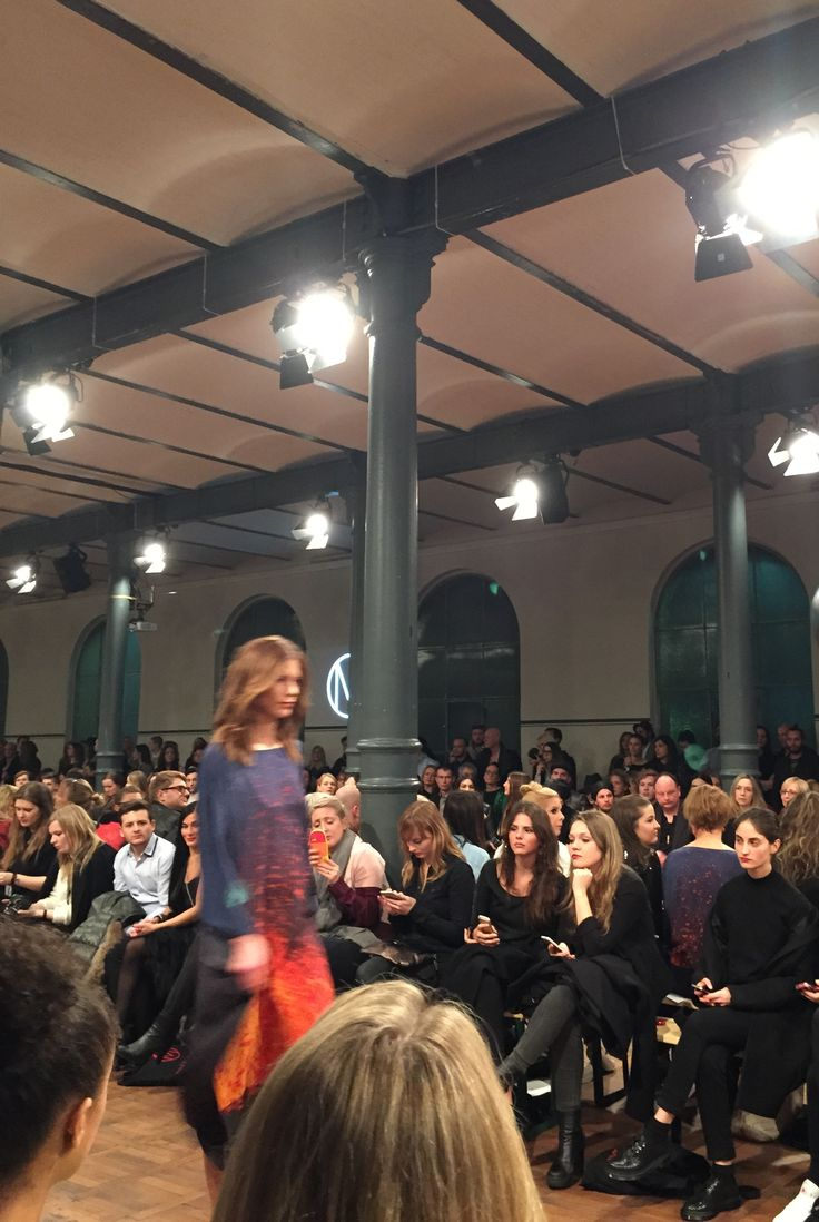 b4f bei der Marcel Ostertag Fashion Show Berlin '15 #fashionweek #berlin