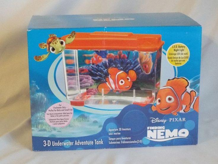 Disney finding nemo 3 d fish tank pennplax my things for Toy fish tank