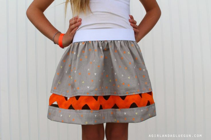 Giant Ric Rac Skirt
