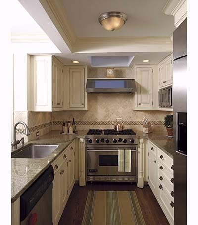 Efficient Galley Kitchens For The Kitchen Pinterest And Remodel