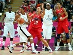 Team USA go up against Angola in the women's Basketball
