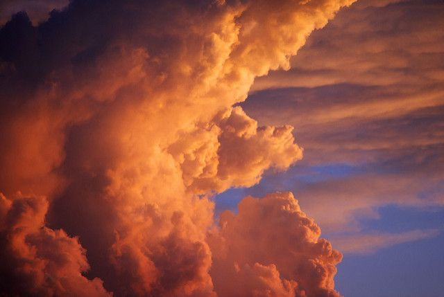 Dramatic Clouds Close-up, Sunset | Dramatic, colorful, cumul… | Flickr