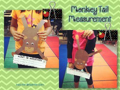 Miss Kindergarten: Measuring Up! with monkeys