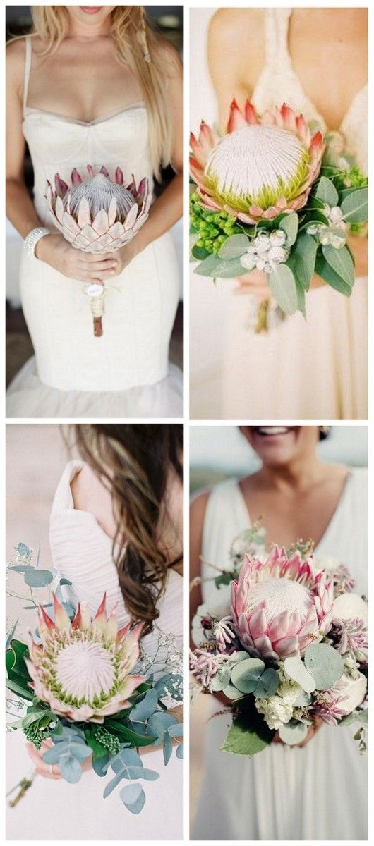 Protea Bouquet Ideas - The King Protea