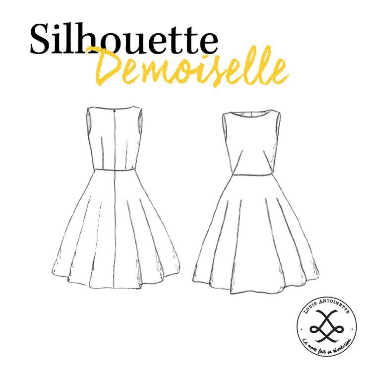 Robe Demoiselle | Mode Femme | Patron |Tuto | DIY
