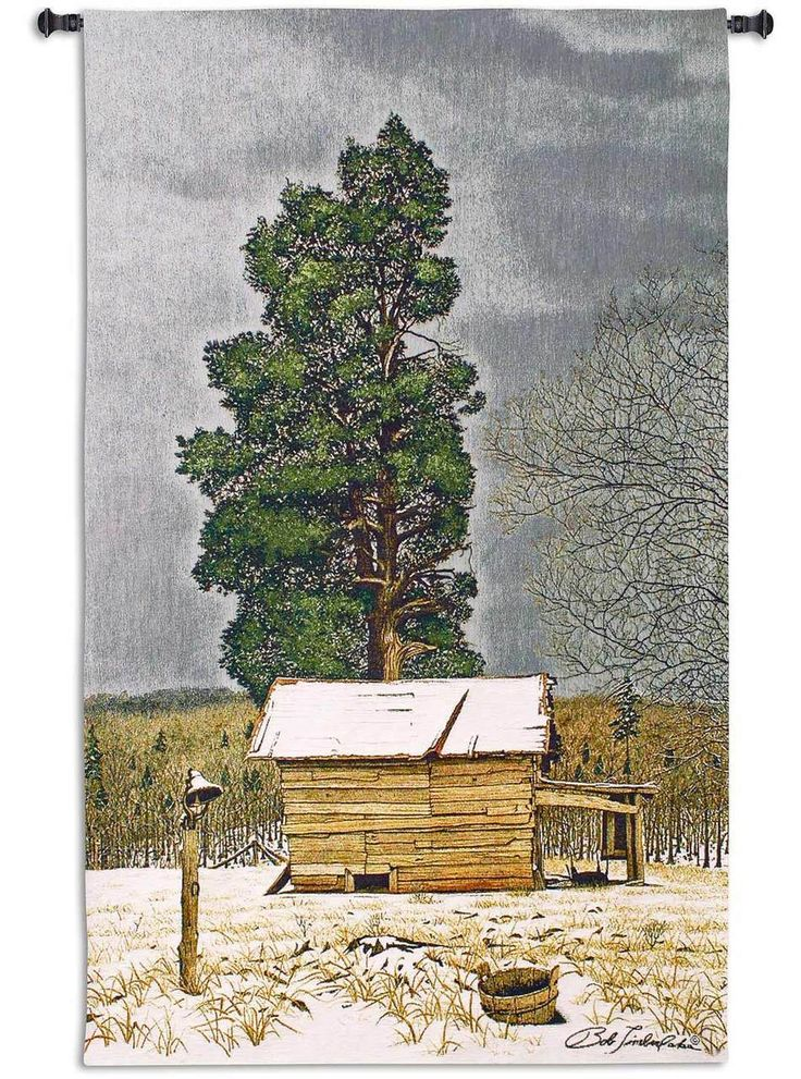Garrison's Cedar by Bob Timberlake   45 x 26   Tapestry Wall Decor