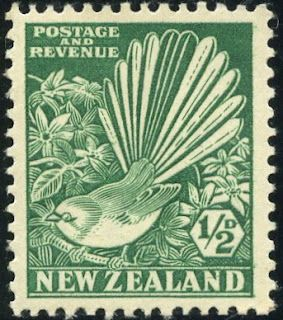 King George VI Postage Stamps: New Zealand 1935 (1 May) - 36 SG556/569
