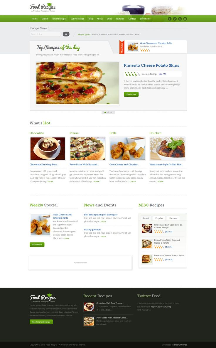 852 best wordpress themes images on pinterest wordpress template food recipes wordpress theme forumfinder Choice Image