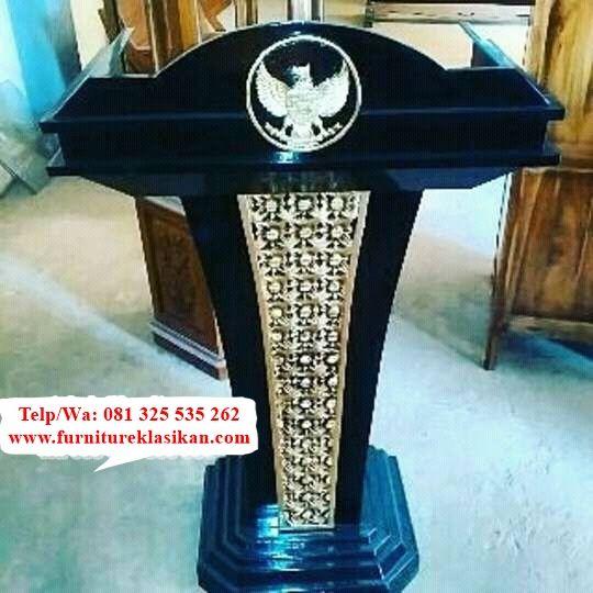 Desain Mimbar Jati Ukir Garuda Terpopuler, Referensi