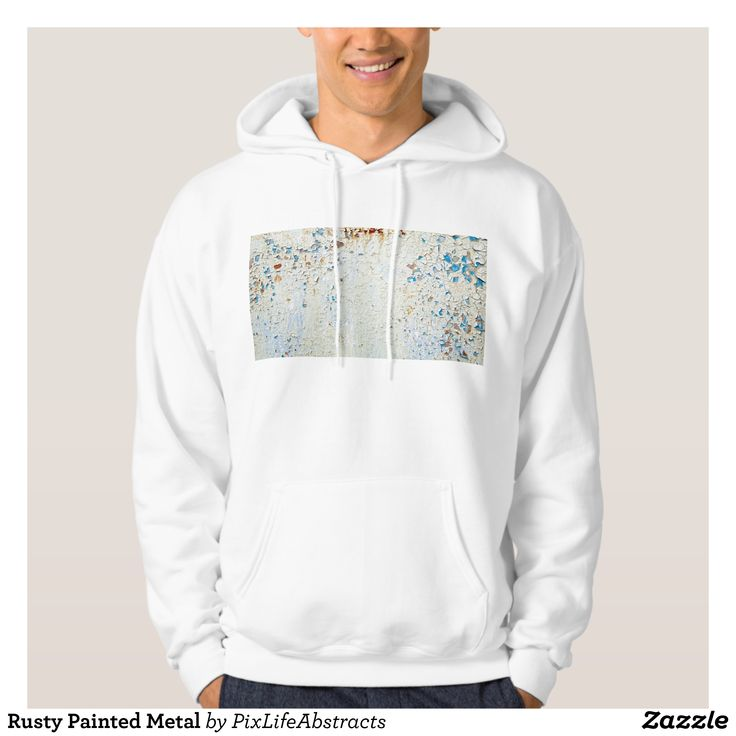 Rusty Painted Metal Hoodie - Stylish Comfortable And Warm Hooded Sweatshirts By Talented Fashion & Graphic Designers - #sweatshirts #hoodies #mensfashion #apparel #shopping #bargain #sale #outfit #stylish #cool #graphicdesign #trendy #fashion #design #fashiondesign #designer #fashiondesigner #style