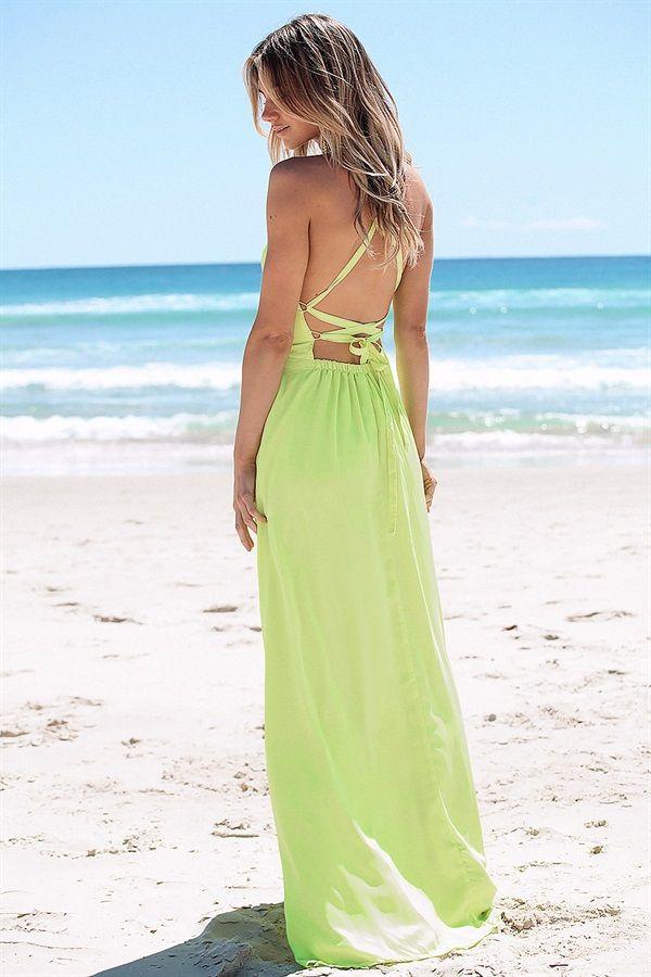 SABO SKIRT - Calipso Maxi Dress