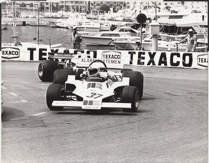 LARRY PERKINS HB BOR FORD 001 MONACO GP 1976 F1 ORIGINAL PERIOD PHOTOGRAPH FOTO