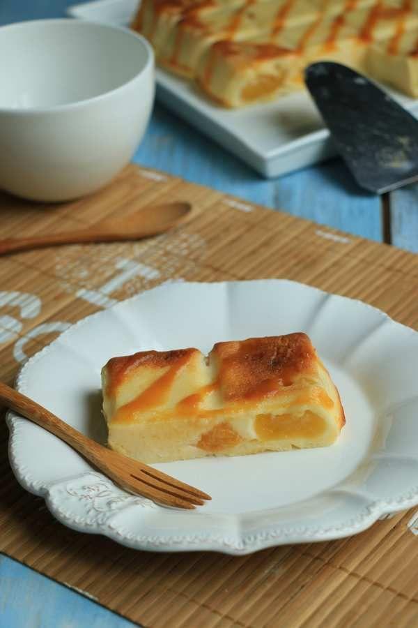 Cuajada à l'abricot (flan espagnol ultra light et bien épais