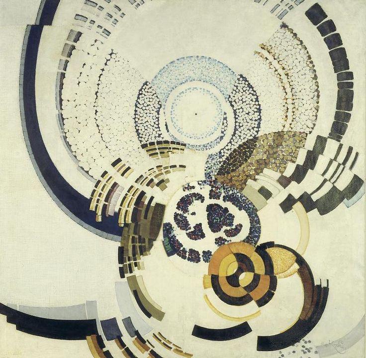 Autour d'un point - Frantisek Kupka, 1920-30