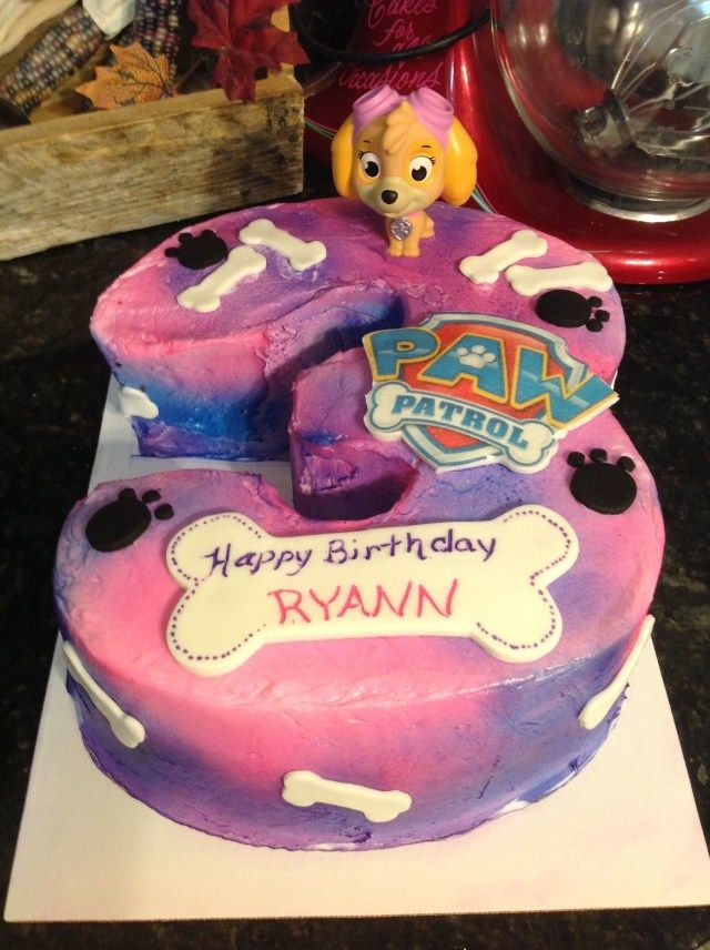 24 Creative Image Of 3d Birthday Cakes For Girls Paw Patrol Birthday Cake Paw Patrol Birthday Cake Girl Toddler Birthday Cakes