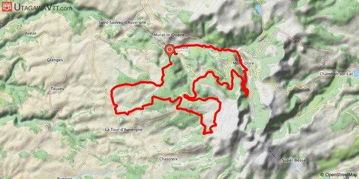 [Puy-de-Dôme] Rando Sancy Verte 2016 - 50 km Une rando VTT alternant passages en forêt et passages sur des plaines avec de superbes paysages.  Possibilité de faire une boucle : arrivé au Parc Fenestre à la Bourboule, suivre le PR vers la caserne des pompiers indiquant Charlannes 3 km, la montée se fait sur le vélo mais ça grimpe fort.