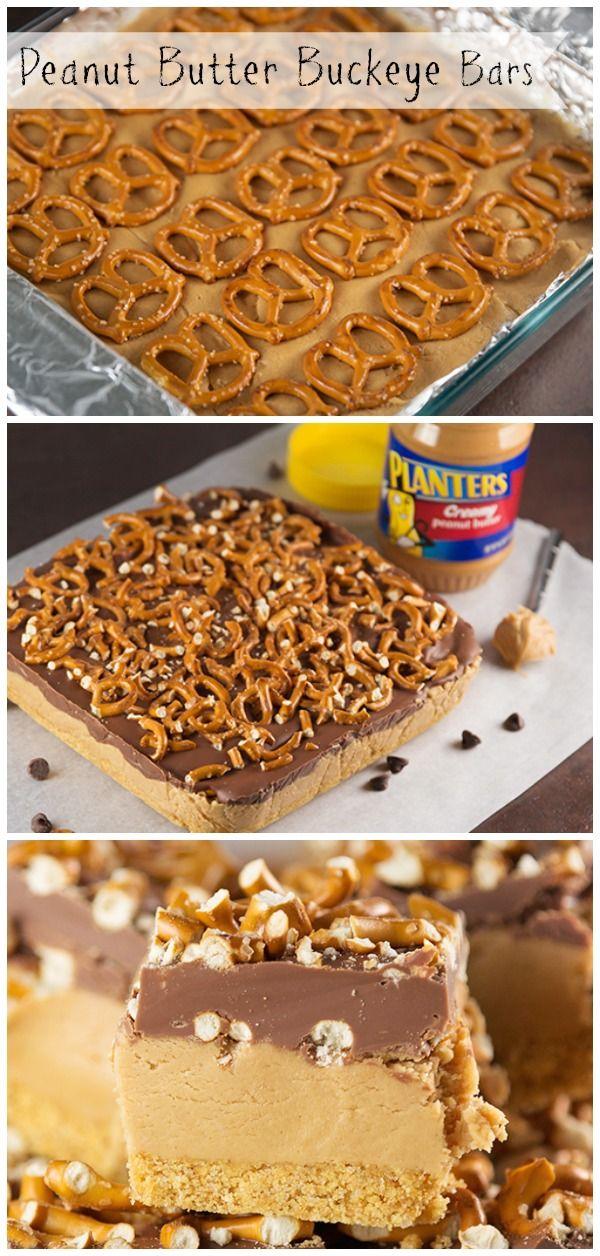 Peanut Butter Buckeye Bars