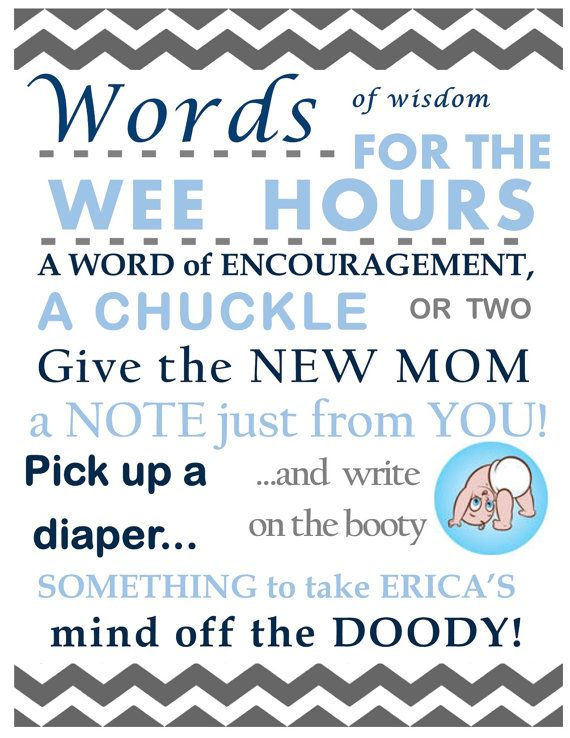 Baby Shower Diaper Message Activity. Such a great Baby Shower Activity! Guests can write the Mommy-to-be/Parents-to-be a sweet, funny, inspirational, etc. message for when they're doing a diaper change during the wee hours of the morning!
