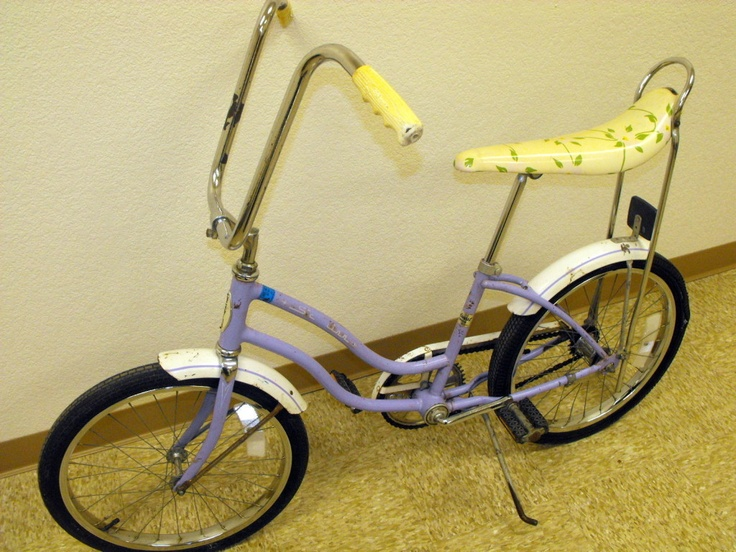 Vintage Banana Seat Bike 118