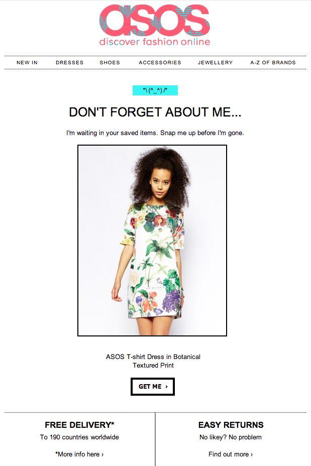 411 best fashion web images on pinterest email newsletter design email design and email marketing. Black Bedroom Furniture Sets. Home Design Ideas