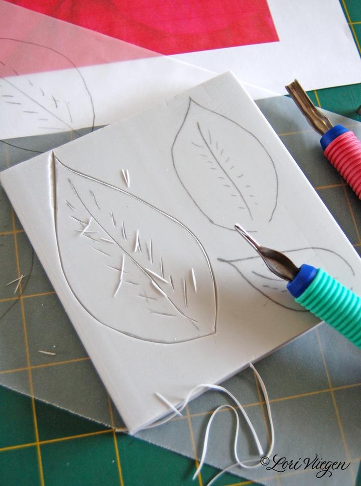 elvie studio carve your own stamps tampons fabrication maison pinterest. Black Bedroom Furniture Sets. Home Design Ideas