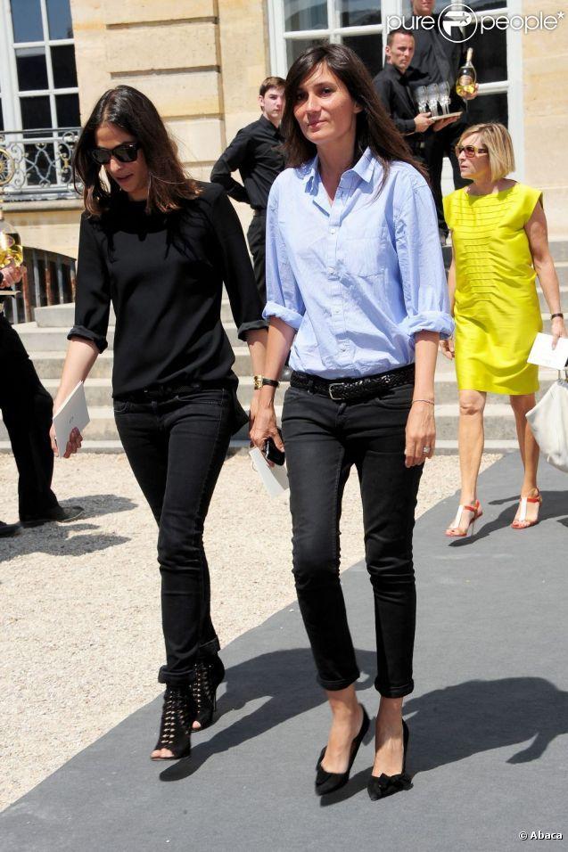 Emmanuelle Alt a repris le 1er février la direction de la rédaction au sein de Vogue Paris, suivant le départ de Carine Roitfeld.