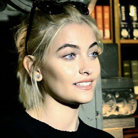 Beautiful Paris Jackson in Paris, France--January 20, 2017