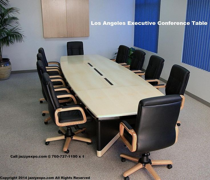 Los Angeles Conference Table In Light Natural Maple Wood Veneer Data Port Panels Are Included