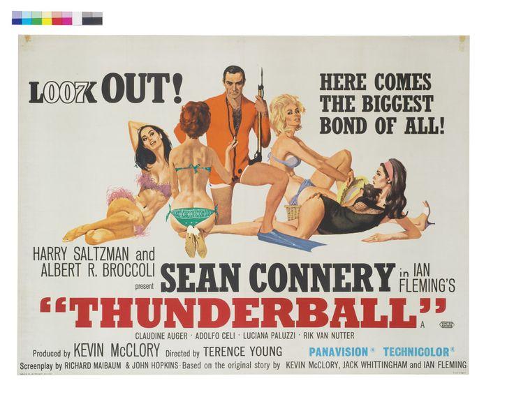 James Bond Thunderbolt Movie Poster