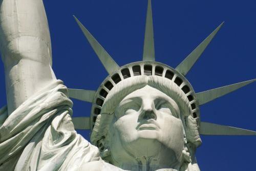 Ein Symbol für die Sehnsucht vieler Menschen in aller Welt: die Freiheitsstatue in New York