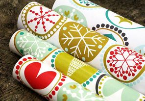Oh no. I just found a website where I can upload my own designs and get custom wrapping paper and fabric. Too excited!