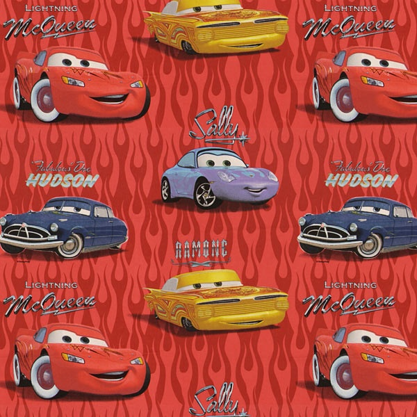 Disneys Cars Flames