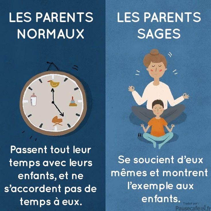 Illustration de la gestion du temps des parents avec leurs enfants !