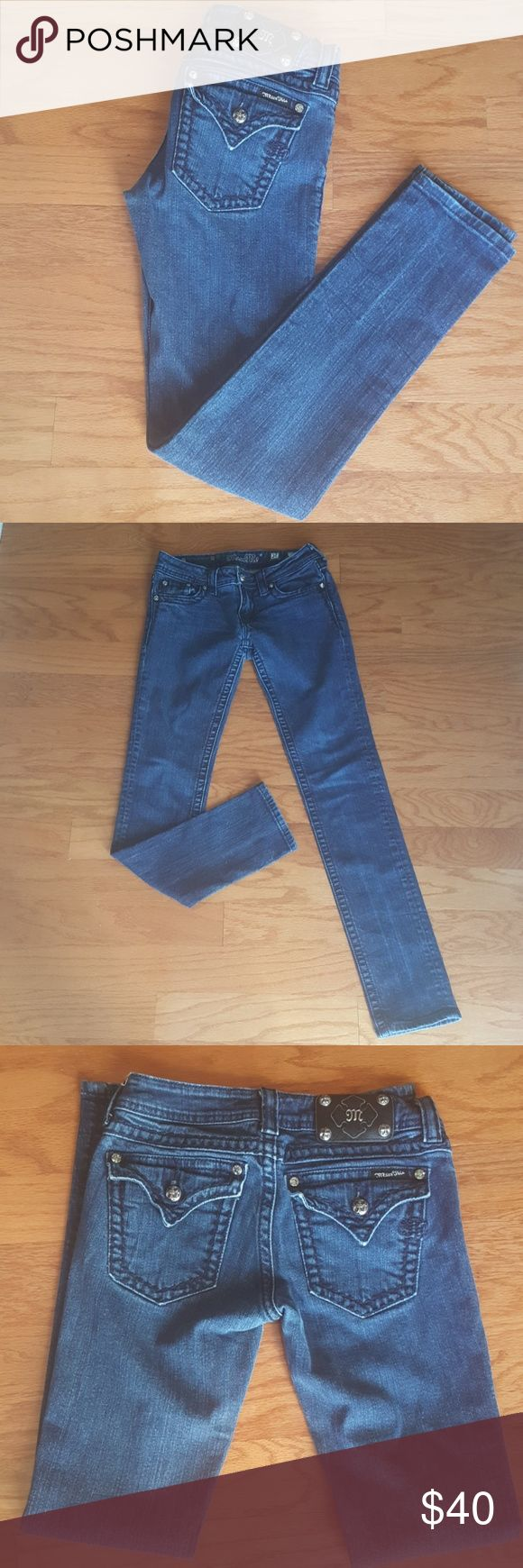 """SALE~Miss Me Skinny Jeans ~ Size 27 Miss Me Skinny Jeans~ Size 27. Gently Used Condition. Measurements: Waist 24"""", Inseam 31"""". Miss Me Jeans Skinny"""