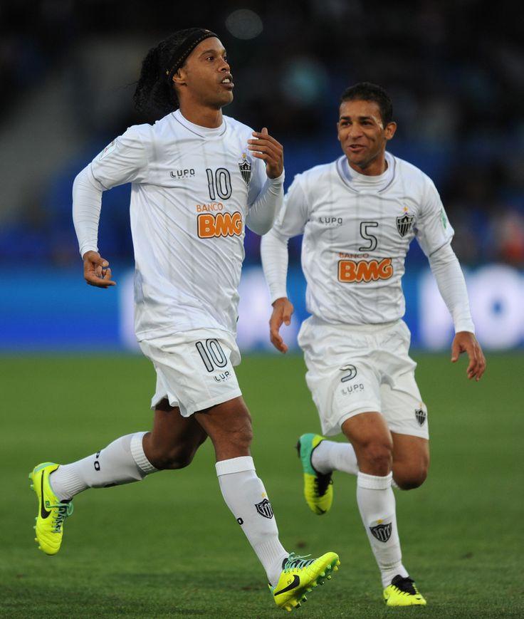 Ronaldinho in Guangzhou Evergrande FCv Atletico Mineiro - FIFA Club World Cup 3rd Place Match