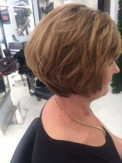 Change is as good as a holiday, great shape #amanda the art of hair