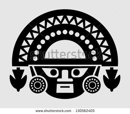 Inca Symbols Tattoo Inca icon - stock vector
