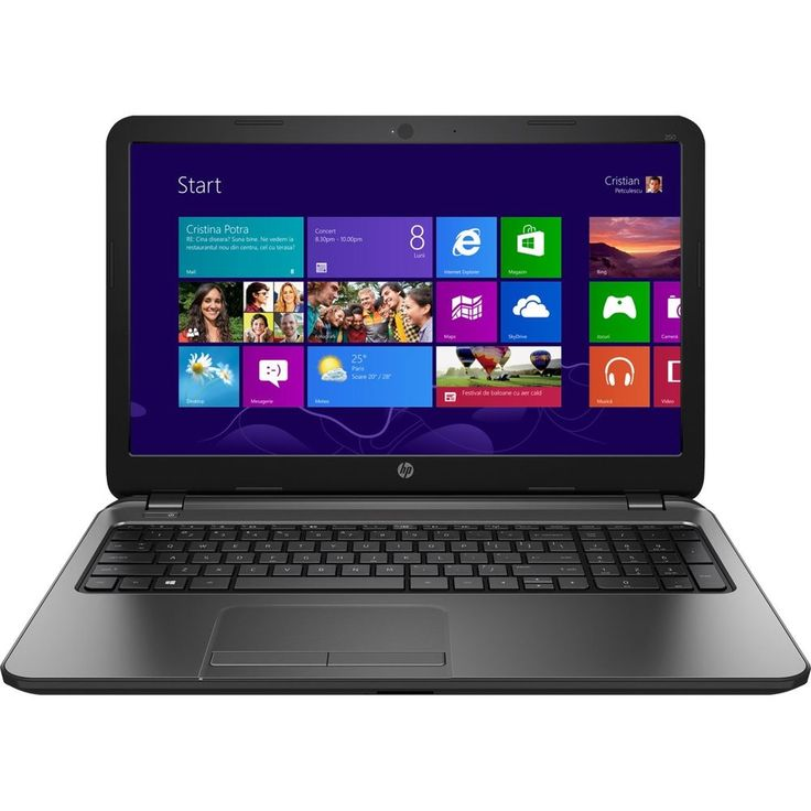 "HP+250+G3+15.6""+Notebook,+Intel+i3,+4GB+RAM,+500GB+HDD,+Win+8.1/Win+10+Upgrade+#HewlettPackard"
