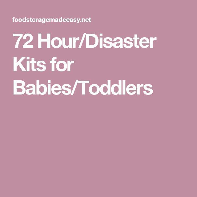 Best Food For Toddlers Hurricane Preparedness