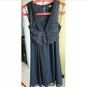 ASOS Dresses & Skirts - Unworn Black Waistcoat Dress US 4