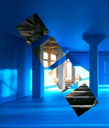 anamorphose - Georges Rousse (France)