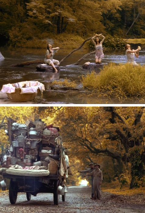 I loved every scene of this movie. The colors, the settings, the music...