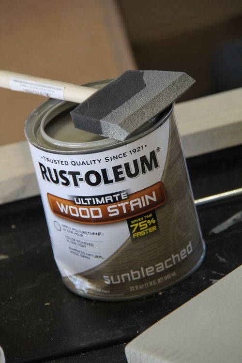 I just used this wonderfully awesome stain today!!!! I sanded down my cherry finished kitchen table and used this...... I freakin' love it!!!!!